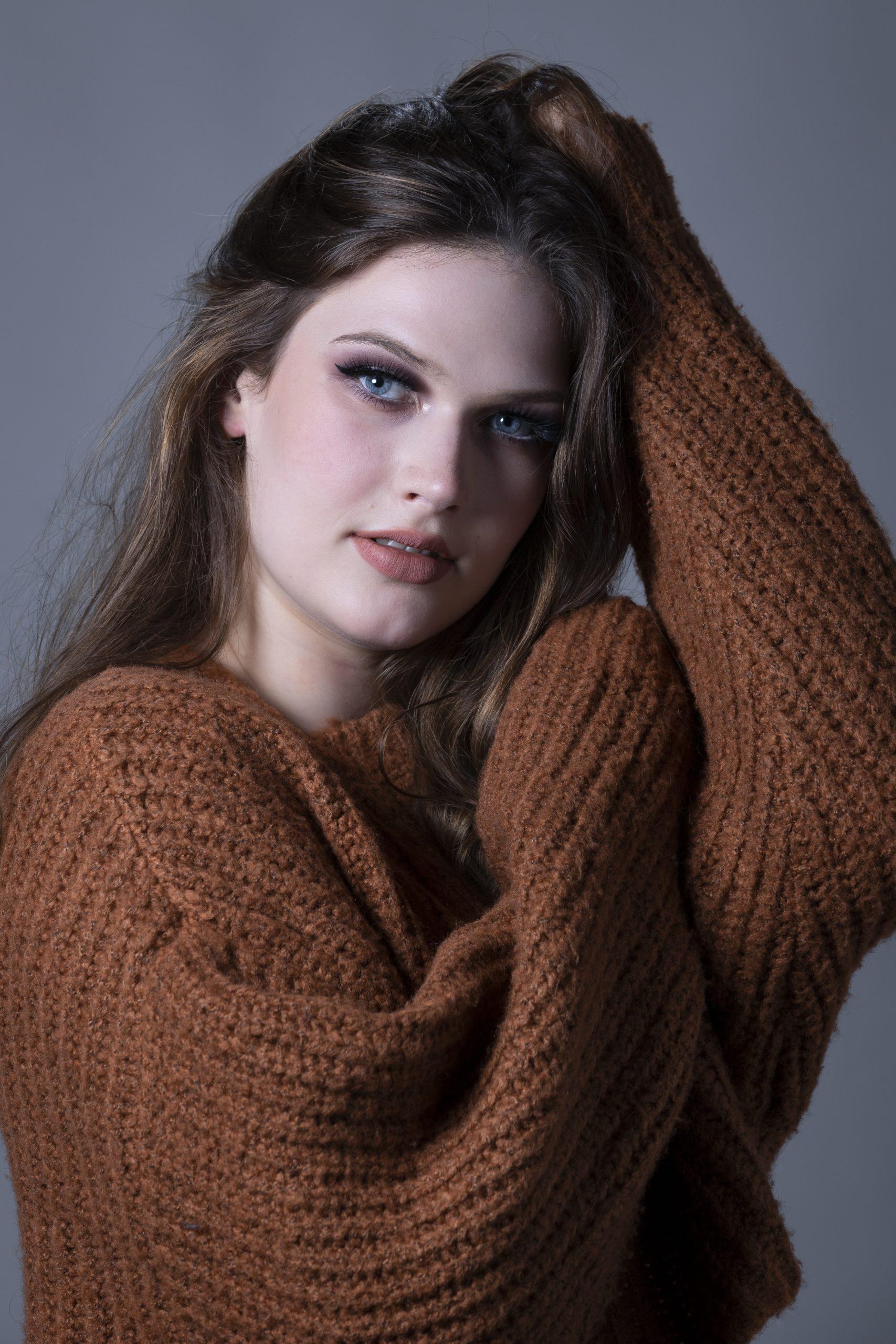Emma shooting portrait commercial